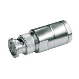 BNC connector - Mannelijk - 50 ohm - Soldeeruitvoering - HQ - Voor RG-213 kabel