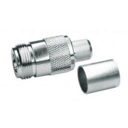 N-connector - Vrouwelijk - Krimpuitvoering - RG-223/U