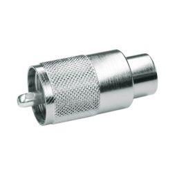 UHF connector - Mannelijk - Voor RG58 kabel - HQ