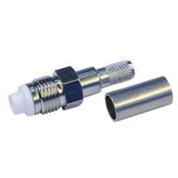 FME connector - Vrouwelijk - Krimpuitvoering - voor RG58