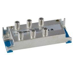 6-weg T-stuk met F-connectoren - 7x F Vrouwelijk