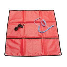Antistatische mat rood 60x60cm