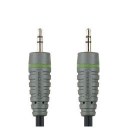 3,5mm stereo jack mannelijk  3,5mm stereo jack mannelijk - 2 meter