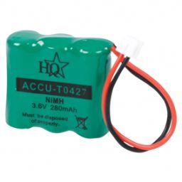 Accu voor draadloze telefoon - 3,6V 280mAh - 30x45x10mm