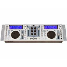 Dubbele MP-3 speler voor DJ's met ingebouwde mixer - met USB ***