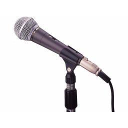JB10/Dynamische microfoon voor stem of muziek met on/off schakelaar