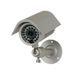 """Waterdichte 1/3"""" IR Z/W CCD Camera met nachtzicht"""