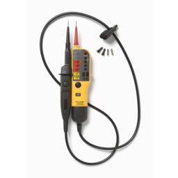 T- Voltage/Continuity Tester met schakelbare belasting.