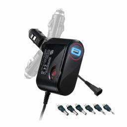 Spanningsomvormer voor wagen 3000mA - 3-12V / 12-13,8V USB.