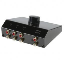 3-weg stereo input uitbreider