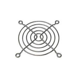 Grille voor ventilator 80 x 80mm met 5 ringen