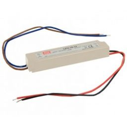 LED voeding 18W 12V 1,5A.
