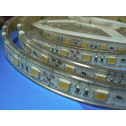 Waterdichte ledstrip - IP68 - Neutraal Wit - 300 type 5050 leds - 24VDC - Ultra bright