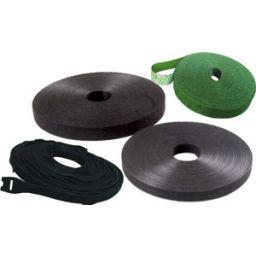 Mepac tweezijdige klittenband 10mm x 25m zwart