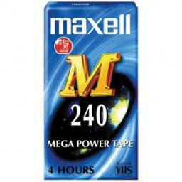 VHS tape 240 minuten