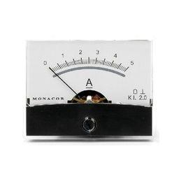Analoge kwaliteitspaneelmeter 5A DC / 60 x 47mm