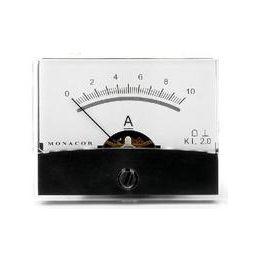 Analoge kwaliteitspaneelmeter 10A DC / 60 x 47mm