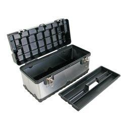 Gereedschapskist - Roestvrij staal - 505 x 235 x 255mm