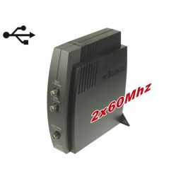 2-kanaals PC Oscilloscoop met USB Interface