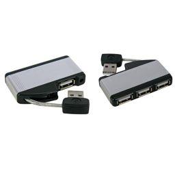 Mini HUB 2.0 - 1x mannelijk naar 4x USB-A vrouwelijk