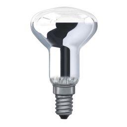 E14 -socket - R50 - 40W - 230V lamp - d=50mm / l=86mm - Chroom - 35° ***