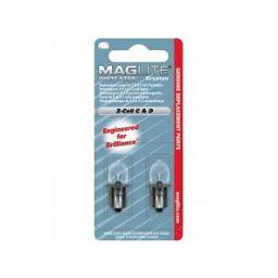 Vervanglamp voor Maglite  2 x C&D - 2 stuks