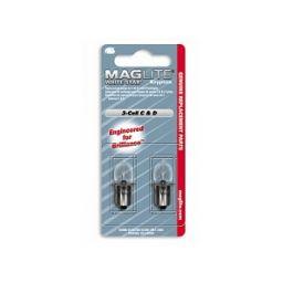 Vervanglamp voor Maglite  3 x C&D - 2 stuks