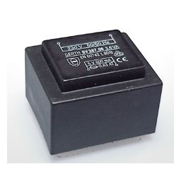 Printtransformator 3,6VA 15V 240mA