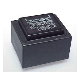 Printtransformator 3,6VA 2x9V 2x177mA