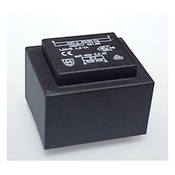 Printtransformator 4,8VA 2x4,5V 2x500mA