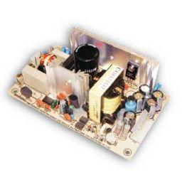 Meanwell Open Frame voeding -3 uitgangen 60W +5V/+12V/-12V.
