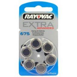 Rayovac Zinc-Air batterijen 1,4V 520mAh 6 stuks