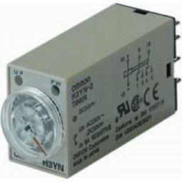 Miniatuur Timer DPDT voor korte tijdspanne 200-230VAC