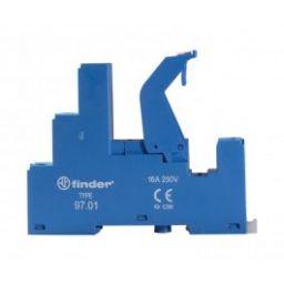 DIN RAIL socket voor REL102