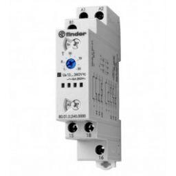 Multi-function timer relais 12 - 240VAC/DC SPDT