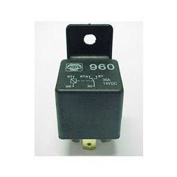 Autorelais 1 wisselcontact 12VDC 20-30A 140mA
