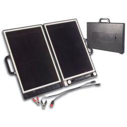 Zonnegenerator in kofferontwerp