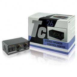 2-weg stereo luidsprekerswitch