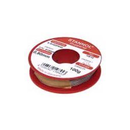Soldeertin met lood 60/40 (tin/lood) 1mm 100gr - 5GTR7
