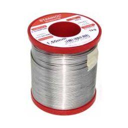 Soldeertin met lood 60/40 (tin/lood) 1,5mm 1kg.