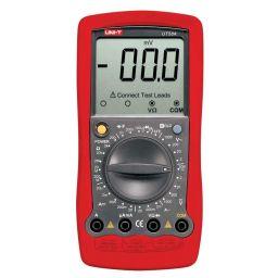 Digitale multimeter - manueel bereik - met indicatie van testsnoer aansluitingen