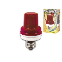Mini Flitslamp Lichtrood - 3,5W - E27 fitting