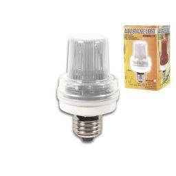 Mini Flitslamp Wit - 3,5W - E27 fitting