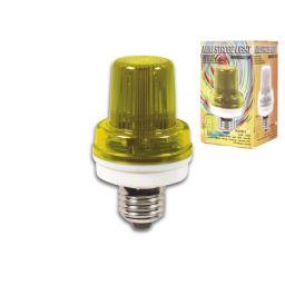 Mini Flitslamp Geel - 3,5W - E27 fitting