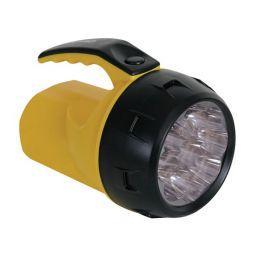 Ledzaklamp - 9 LEDs - met 4 x AA-batterijen
