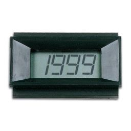 Digitale LCD paneelmeter - 9VDC voedingspanning lowcost