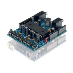 Assembled Audio shield voor Arduino®