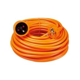 Verlengkabel 20m oranje