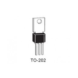 TRIAC SENS GATE 600V 4A TO202 ***