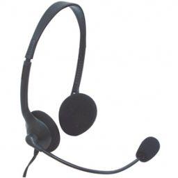 ***Headset met verstelbare mic en volumeregelaar